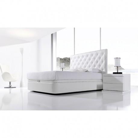 Cabezal de cama tapizado capitone